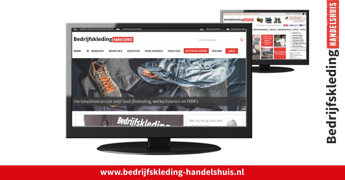 Nieuwe Website en webshop Bedrijfskleding handelshuis