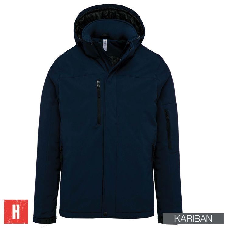 Kariban jas met afritsbare mouwen in 4 kleuren leverbaar