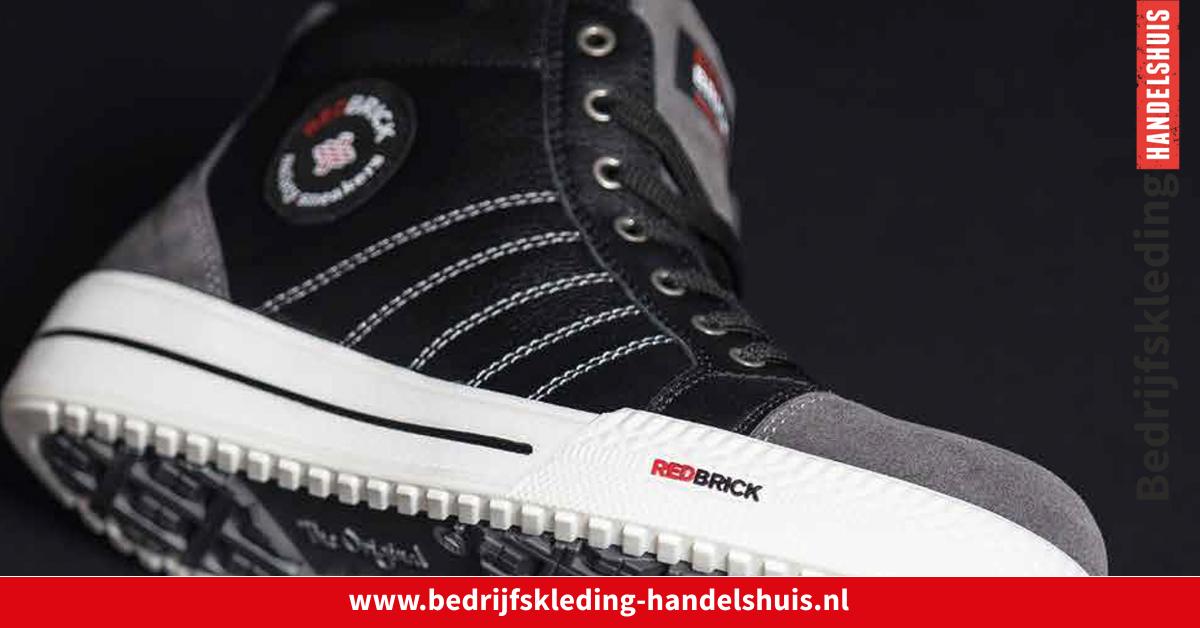 Redbrick Werkschoenen.De Vernieuwde Redbrick Werkschoenen Bedrijfskleding Handelshuis