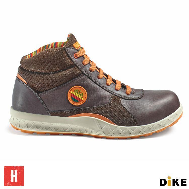 Werkschoenen S3.Dike Primato Premium Chocolate H Werkschoenen S3 Src Handelshuis