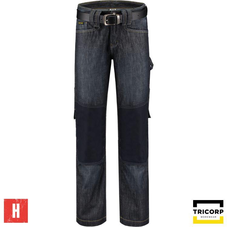 502005 Tricorp Spijkerbroek met cordura kniezakken